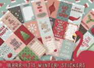 Brrr! It's Winter! | Sticker Kit | 4 Sheets